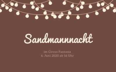 Anmeldungen für Sandmannnacht gestartet